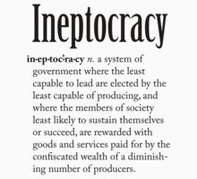 Ineptocracy by Robin Lund