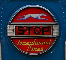 GMC PD 3751 Greyhound Bus stop sign (1947) by Frits Klijn (klijnfoto.nl)