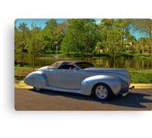 1940 Lincoln Custom Convertible Canvas Print