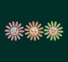 Cute, pretty retro girl flowers by BigMRanch