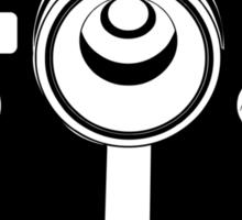 Retro Camera. Sticker
