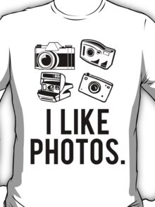 i like photos. T-Shirt