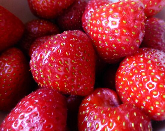 Strawberries From The Garden Of England by Fara