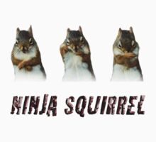 Ninja Squirrel Kids Clothes