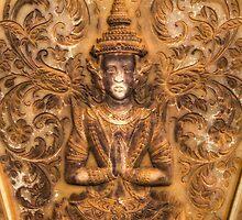 Buddha, Cambodia by Michael Treloar