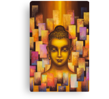 Buddha. Rainbow body Canvas Print