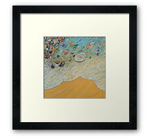Serenity triptych. Part 2 Framed Print