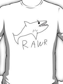 Shark RAWR T-Shirt
