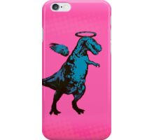Angel Rex (pink and blue) iPhone Case/Skin