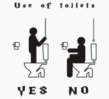 Ministry of Magic Toilet Etiquette by jonah-vark