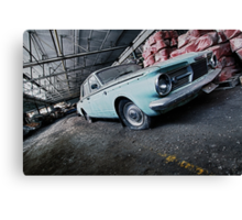 The Getaway Car Canvas Print