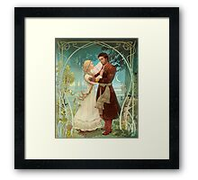 Snow Maiden and Mizgir Framed Print