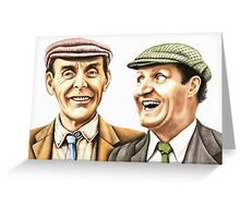 Eric and Tommy - The Plank Greeting Card