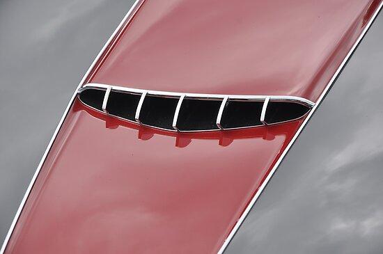 Maserati 2000 Gran Sport Spyder hood (1957) by Frits Klijn (klijnfoto.nl)