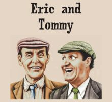 Eric and Tommy's t-shirt by Margaret Sanderson
