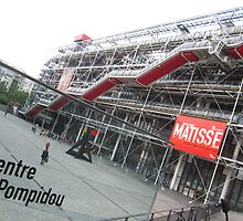 Pompidou Centre, Paris by imaginedavid