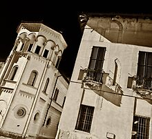 Old palace by Roberto Pagani