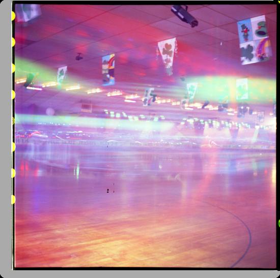 Skating Rink Light Play by Photonmixer