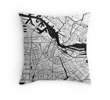 Amsterdam Toner Poster Throw Pillow