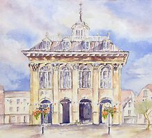 Abingdon County Hall by Patsy Smiles