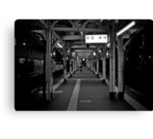 Walk this Way - Otaru , Hokkaido , Japan Canvas Print