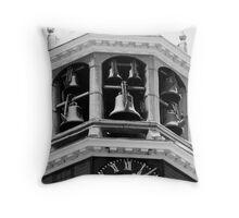 Carillon in the Snow Throw Pillow
