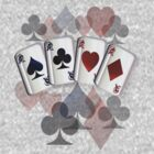 Four Aces and Suits by Lotacats