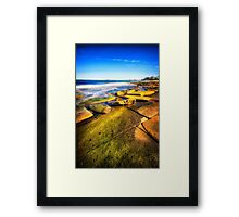 King of Rock.. Framed Print