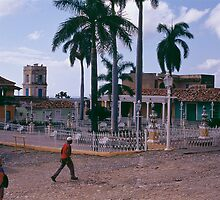 Plaza Mayor, Trinidad Cuba. by johnboucher
