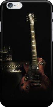 Guitar iPhone Case by Roger Hall