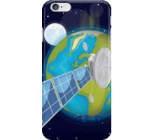 Satellite Earth  iPhone Case/Skin