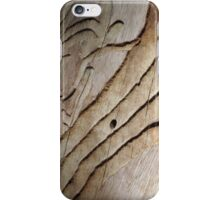 Wormed Wood iPhone Case/Skin