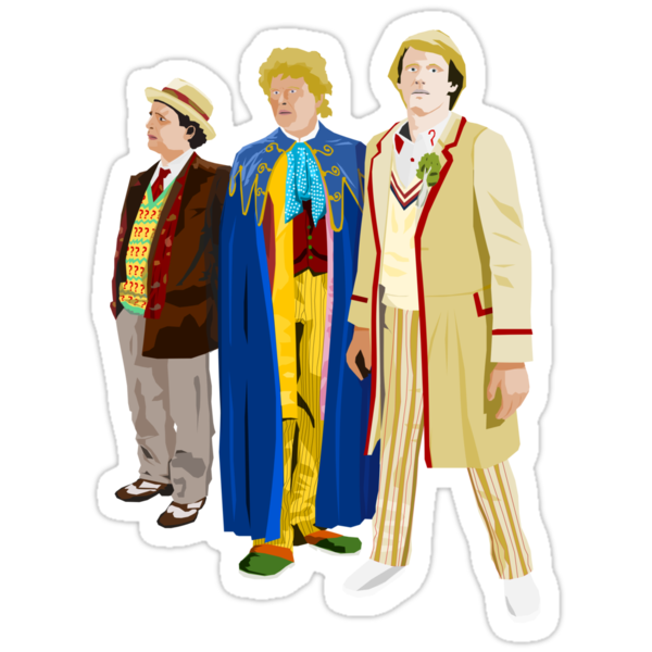 80s Doctor Who by Tim Foley