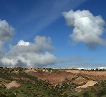 Escarpment at Hallett Cove. by Ben Loveday
