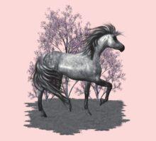 The Gray Pony .. tee shirt Kids Clothes
