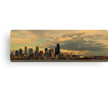 City of Clouds Canvas Print