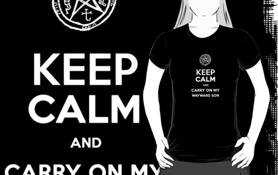 Keep Calm - Devil's Trap by JennHolton