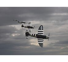 P47 Thunderbolt  -  'Cab Rank' Photographic Print