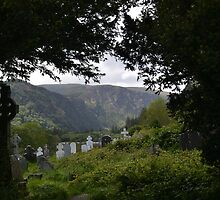 Glendalough Graves by EmilyBoylan