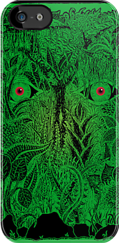 gaia nature iPhone case by peter barreda