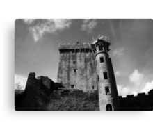The Looming Castle Canvas Print
