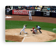 Foul Ball Canvas Print