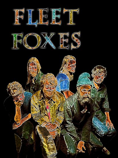 Fleet Foxes by Elliott Butler