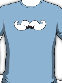 This moustache has it's own moustache!  T-Shirt