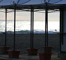 the beach by Sebastian Ratti