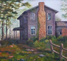 Old House Painting by JamieTifft