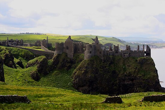 Dunluce Castle by Don Rankin