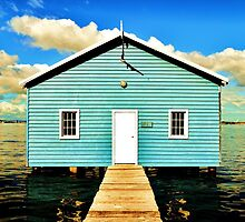 Crawley Boat Shed  by karlamckenzie