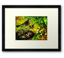 ARE YOU MY MOMMY? Framed Print