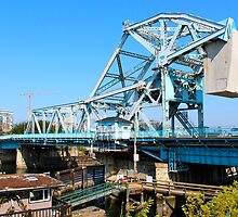 "The Ugly ""Blue"" Bridge Victoria BC by Ernie Steven Dickey"
